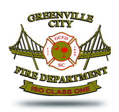 GCFD logo including ISO 1 rating banner