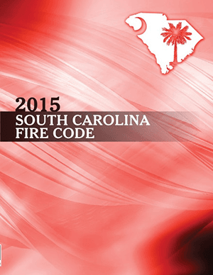 Fire Code 2015 regulation book cover